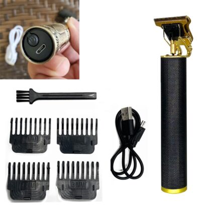 2021 USB T9 Hair Clipper Professional Electric Hair Trimmer