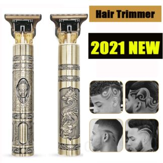 2021 USB T9 Hair Clipper Professional Electric Hair Trimmer